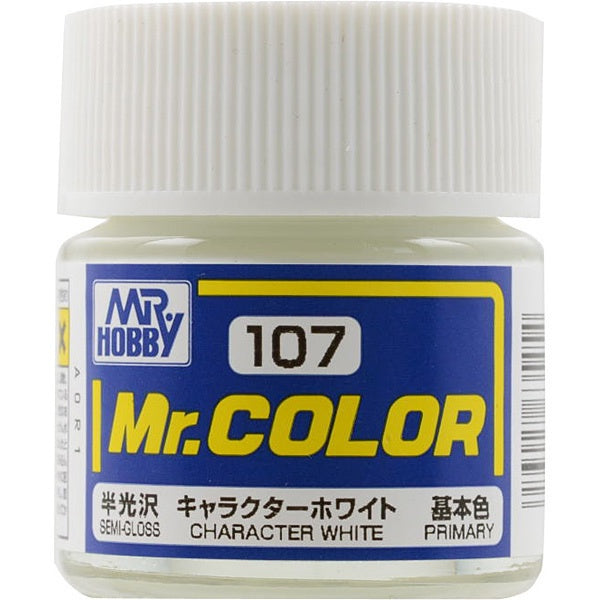 Mr. Color 107 - Character White (Semi-Gloss/Primary) C107