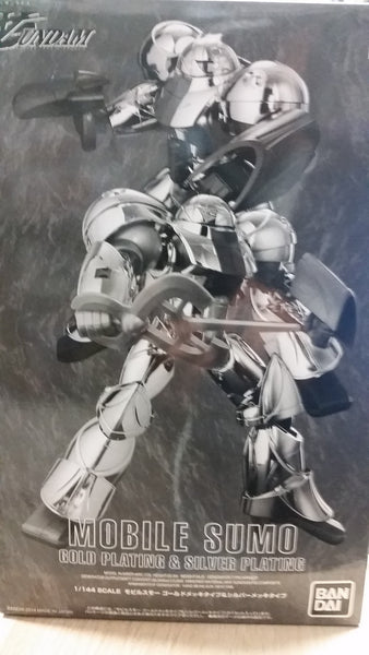 HG Mobile Sumo Gold & Silver Plating 1/144
