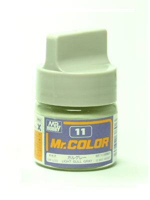 Mr. Color 11 - Light Gull Gray (Semi-Gloss/Aircraft) C11