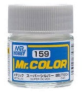 Mr. Color 159 - Super Silver (Metallic/Car) C159