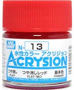 Acrysion N13 - Flat Red (Gloss/Primary)
