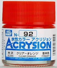 Acrysion N92 - Clear Orange (Gloss/Primary)