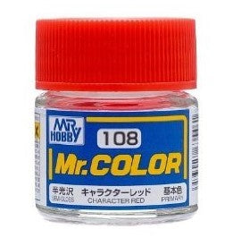 Mr. Color 108 - Character Red (Semi-Gloss/Primary) C108