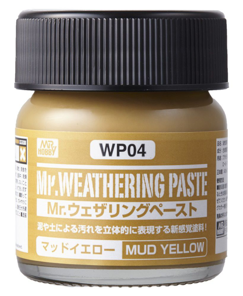 Mr. Weathering Paste Mud Yellow WP04