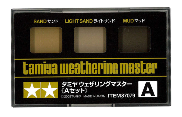 Weathering Master A Set (Sand, Light Sand & Mud)