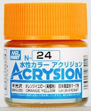Acrysion N24 - Orange Yellow (Semi-Gloss/IJA-IJN Aircraft)