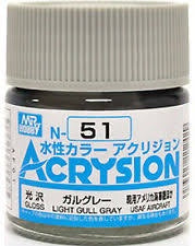Acrysion N51 - Light Gull Gray (Gloss/Aircraft)