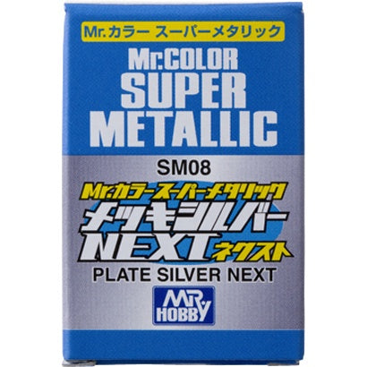 Mr Color Super Metallic - Plate Silver