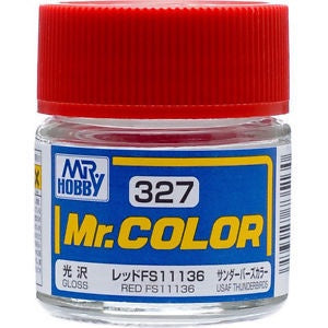 Mr. Color 327 - Red FS11136 (Gloss/Aircraft) C327
