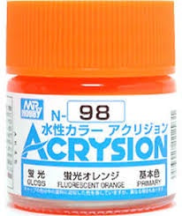 Acrysion N98 - Fluorescent Orange (Semi-Gloss/Primary)