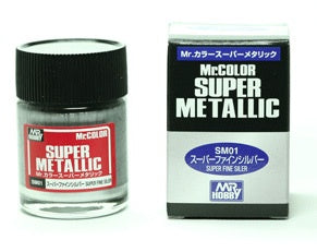 Mr Color Super Metallic - SM01 Super Chrome