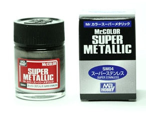 Mr Color Super Metallic - SM04 Stainless