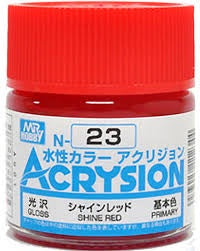 Acrysion N23 - Shine Red (Gloss/Primary)