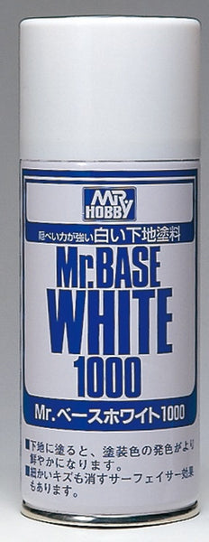 Mr Base White Spray 1000  Can B518