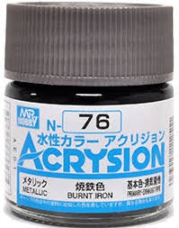 Acrysion N76 - Burnt Iron (Metallic/Primary)
