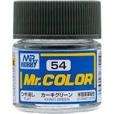 Mr. Color 54 - Khaki Green (Flat/Tank) C54