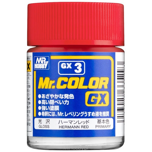 Mr Color GX3 - Red