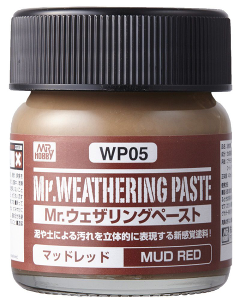 Mr. Weathering Paste Mud Red WP05