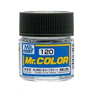 Mr Color 120 - RLM80 Olive Green (Semi-Gloss/Aircraft) C120