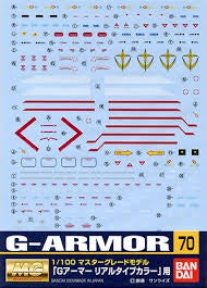Gundam Decal 70 - G-Armor