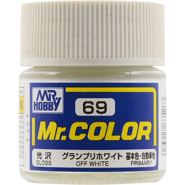 Mr. Color 69 - Off White (Gloss/Primary Car) C69