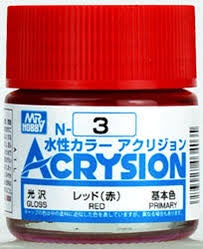 Acrysion N3 - Red (Gloss/Primary)