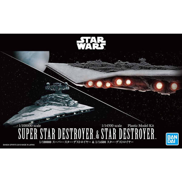 SW - Super Star Destroyer & Star Destroyer