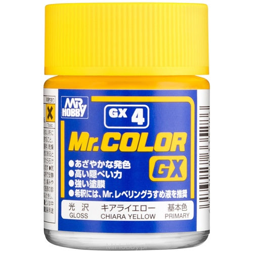 Mr Color GX4 - Yellow