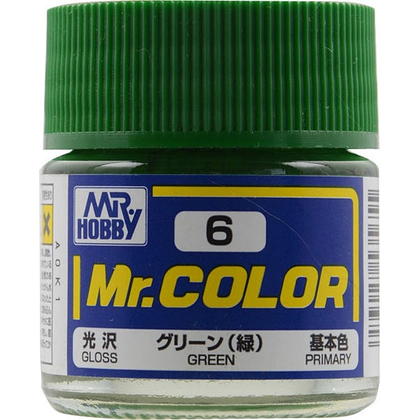 Mr Color 6 - Green (Gloss/Primary) C6