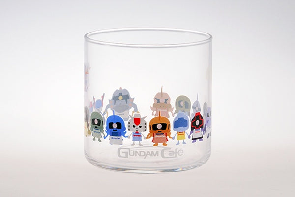 Gundam Cafe Kun Glass