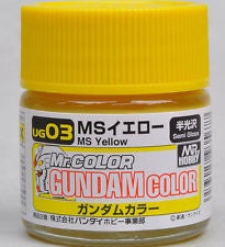 G Color - UG03 MS Yellow (Union A.F) - 10ml