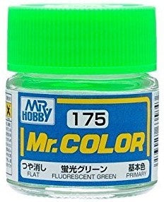Mr. Color 175 - Fluorescent Green (Gloss/Primary) C175