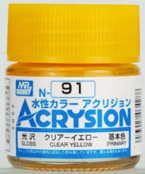 Acrysion N91 - Clear Yellow (Gloss/Primary)
