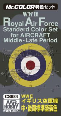 Mr. Color - Royal Air Force Standard Color Set for Aircraft CS684