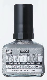Mr. Weathering Color WC06 - Multi Gray