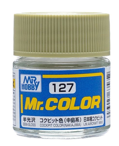 Mr. Color 127 - Cockpit Color (Nakajima) (Semi-Gloss/Aircraft) C127