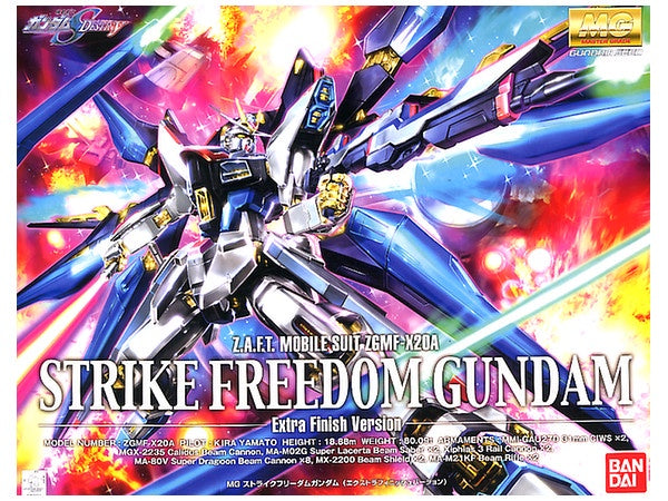 MG Strike Freedom Extra Finish Version 1/100
