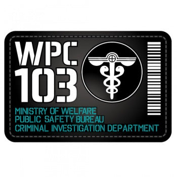 Psycho Pass Removable PVC Patch