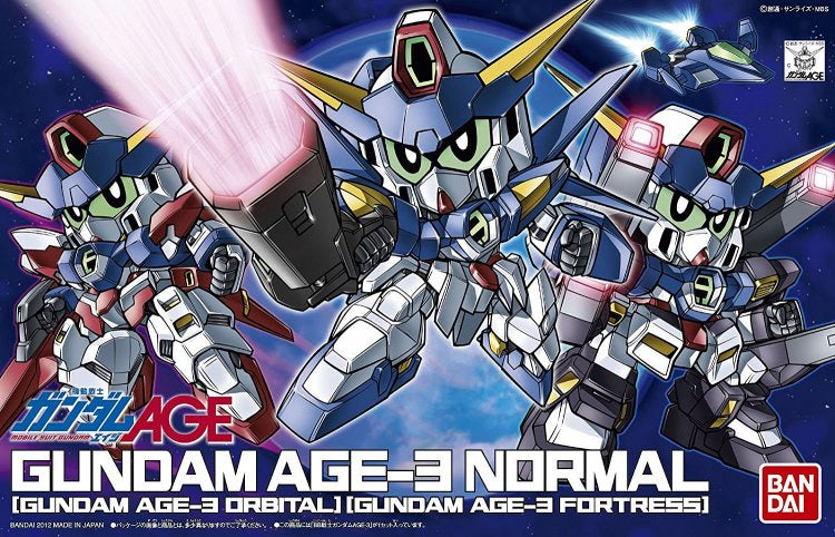 BB372 Gundam Age-3 (Normal/Fortress/Orbital)
