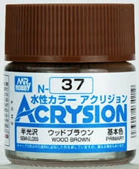 Acrysion N37 - Wood Brown (Semi-Gloss/Primary)