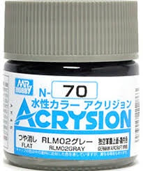 Acrysion N70 - RLM02 Gray (Semi-Gloss/Aircraft)