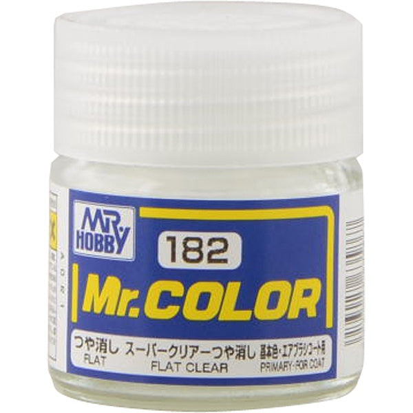 Mr. Color 182 - Flat Clear (Flat/Primary) C182