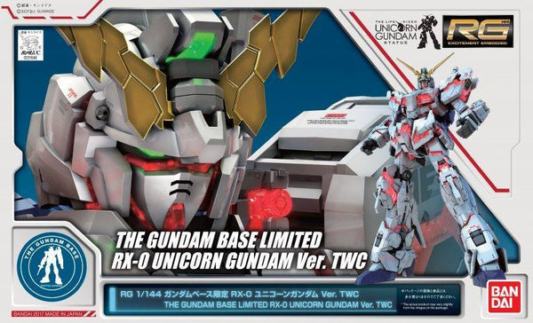RG The Gundam Base Limited RX-0 Unicorn Gundam Ver. TWC