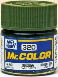 Mr. Color 320 - Dark Green (Semi-Gloss/Aircraft) C320
