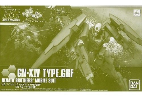 HG GN-XIV Type GBF Renato Brothers' Mobile Suit 1/144