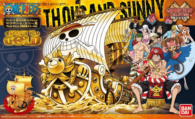 OP - Grand Ship Collection - Thousand Sunny (Film Gold)