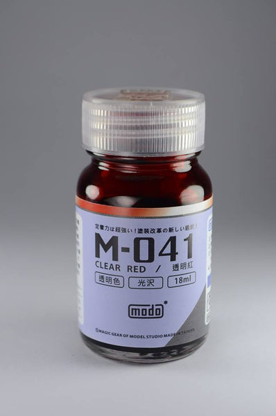 M-041 CLEAR RED