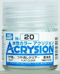 Acrysion N20 - Flat Clear (Flat/Primary-For Coat)