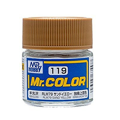 Mr Color 119 - RLM76 Sand Yellow (Semi-Gloss/Aircraft) C119