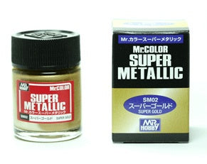 Mr Color Super Metallic - SM02 Gold